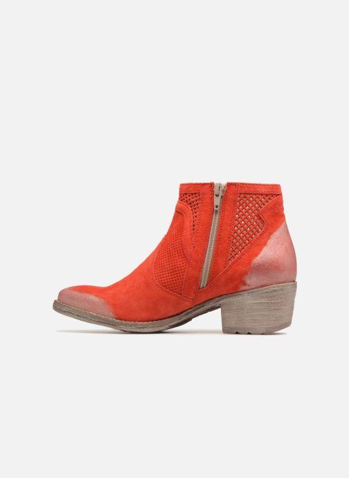 Bottines et boots Khrio Lucia Rouge vue face