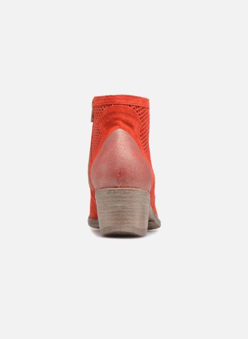Bottines et boots Khrio Lucia Rouge vue droite
