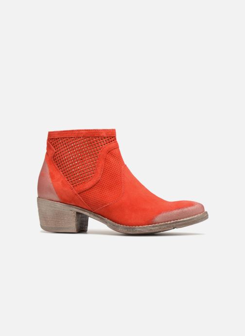 Ankle boots Khrio Lucia Red back view