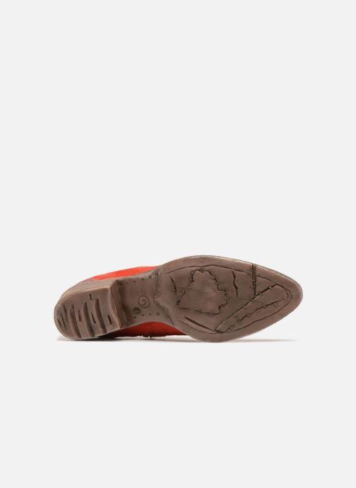 Bottines et boots Khrio Lucia Rouge vue haut