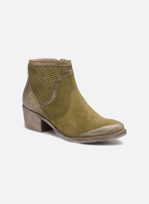 Bottines et boots Khrio Lucia Vert vue détail/paire