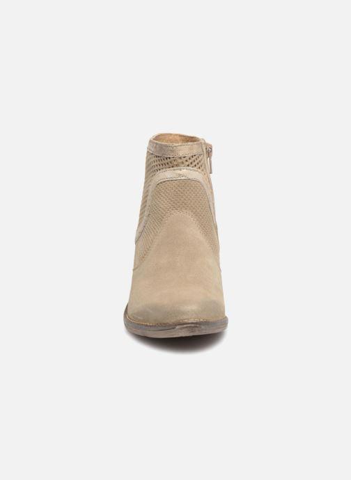 Bottines et boots Khrio Lucia Beige vue portées chaussures