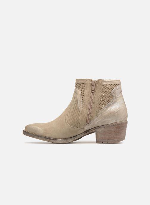 Boots en enkellaarsjes Khrio Lucia Beige voorkant