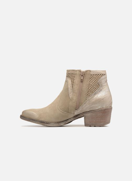 Bottines et boots Khrio Lucia Beige vue face