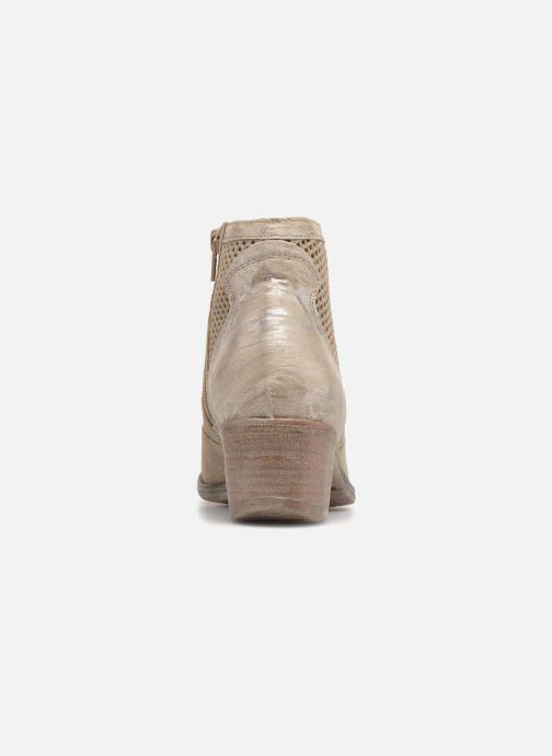 Bottines et boots Khrio Lucia Beige vue droite