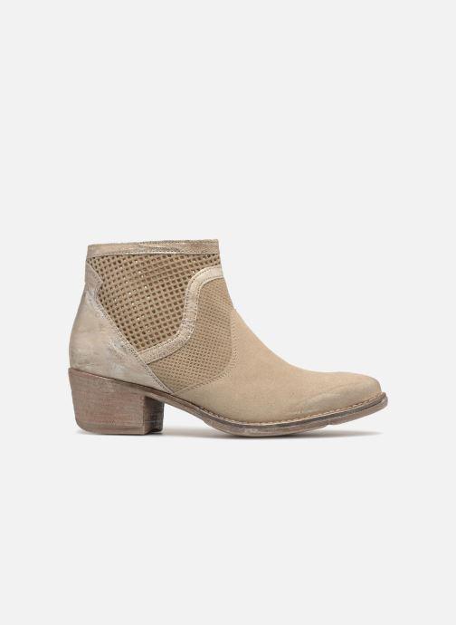 Boots en enkellaarsjes Khrio Lucia Beige achterkant