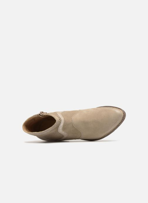 Bottines et boots Khrio Lucia Beige vue gauche