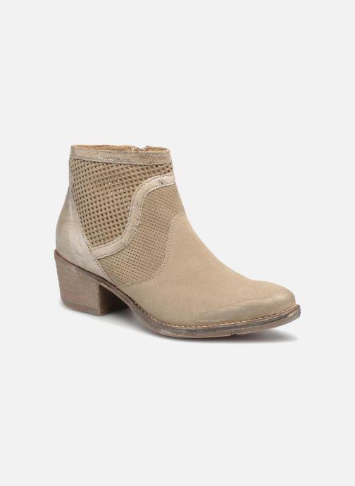 Boots en enkellaarsjes Khrio Lucia Beige detail