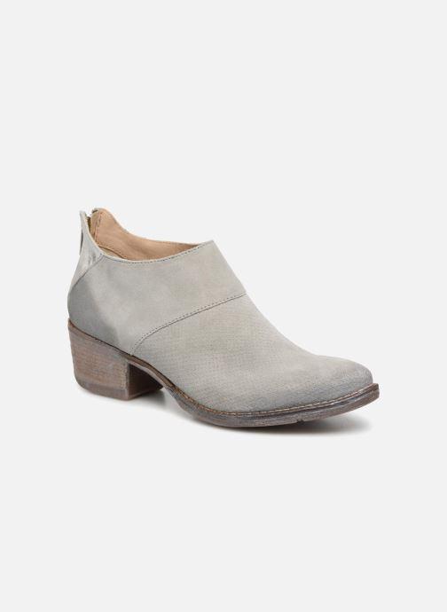 Boots en enkellaarsjes Khrio Monica Grijs detail