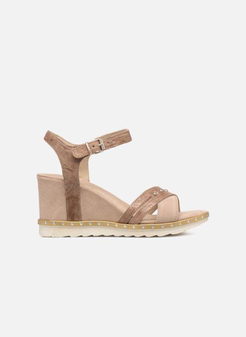 Sandales et nu-pieds Khrio Corona Marron vue derrière