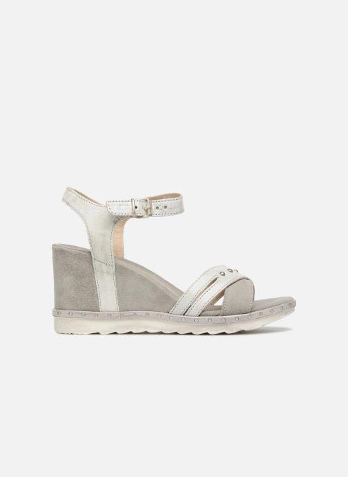 Sandales et nu-pieds Khrio Corona Gris vue derrière