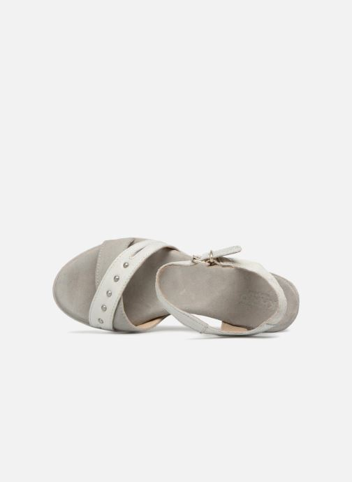 Sandales et nu-pieds Khrio Corona Gris vue gauche