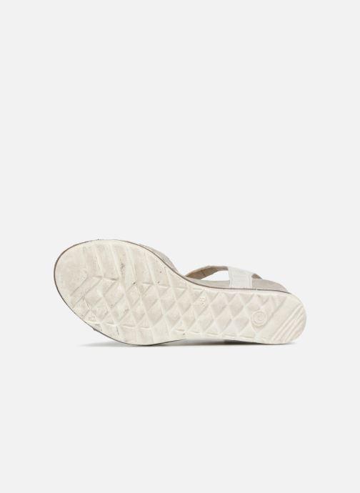 Sandales et nu-pieds Khrio Corona Gris vue haut