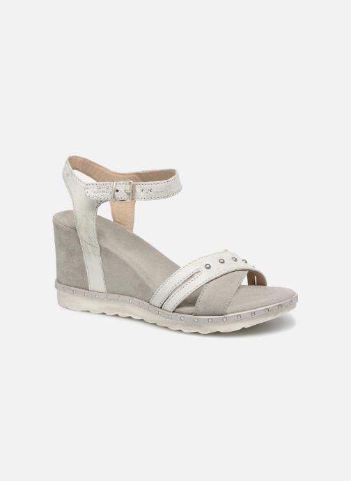 Sandales et nu-pieds Khrio Corona Gris vue détail/paire