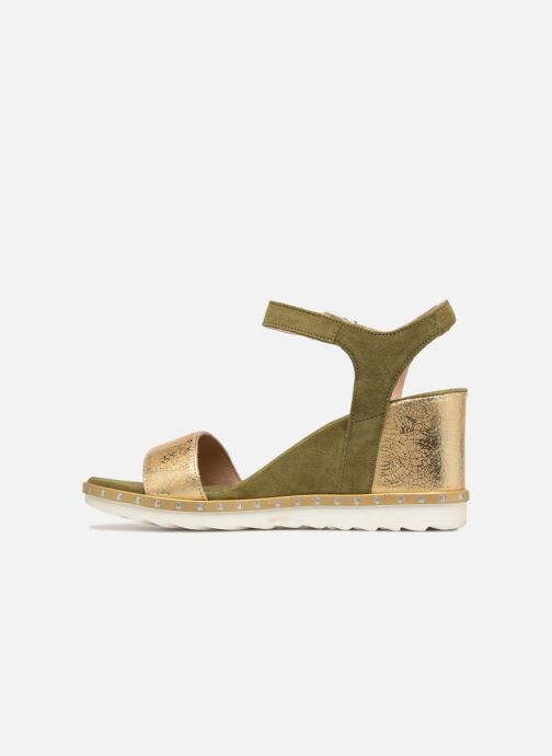 Sandales et nu-pieds Khrio Primavera Vert vue face