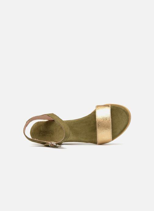 Sandales et nu-pieds Khrio Primavera Vert vue gauche
