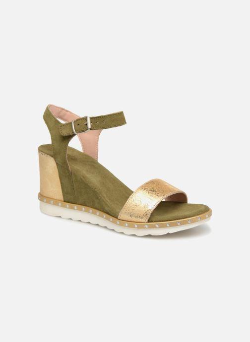 Sandales et nu-pieds Khrio Primavera Vert vue détail/paire