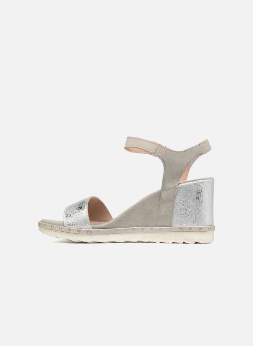 Sandales et nu-pieds Khrio Primavera Beige vue face
