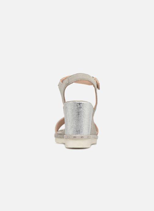 Sandales et nu-pieds Khrio Primavera Beige vue droite