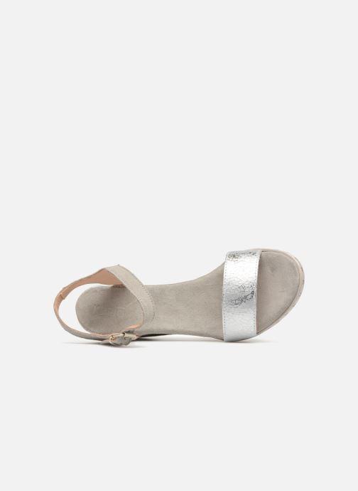 Sandales et nu-pieds Khrio Primavera Beige vue gauche