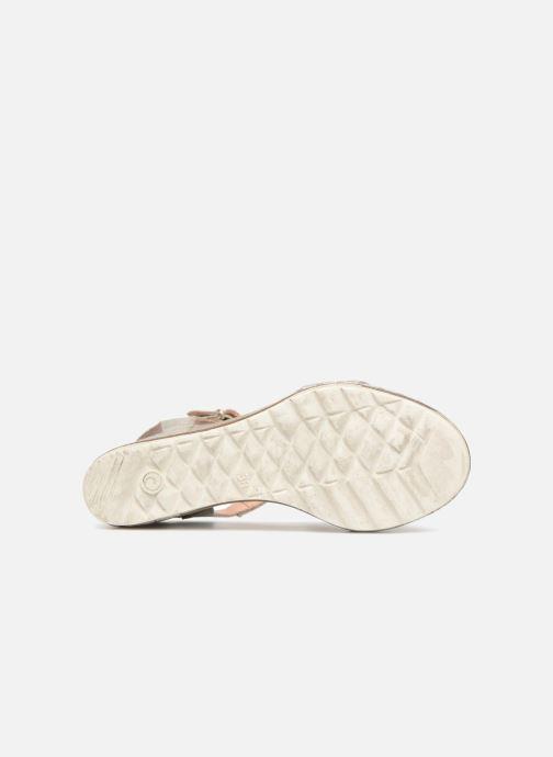 Sandales et nu-pieds Khrio Primavera Beige vue haut