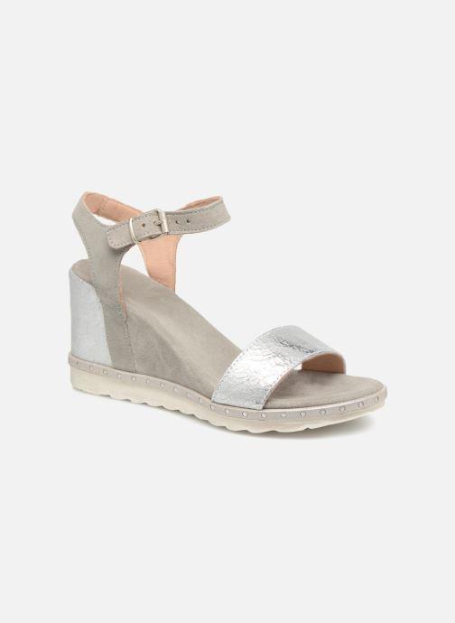 Sandales et nu-pieds Khrio Primavera Beige vue détail/paire