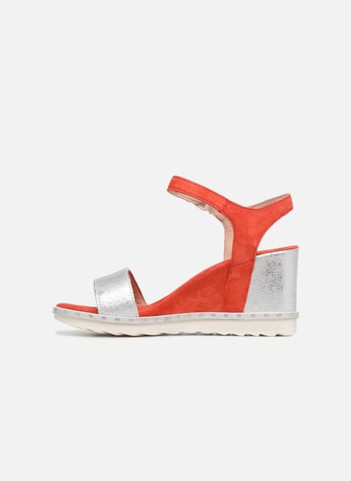 Sandales et nu-pieds Khrio Primavera Rouge vue face