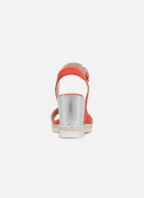Sandales et nu-pieds Khrio Primavera Rouge vue droite