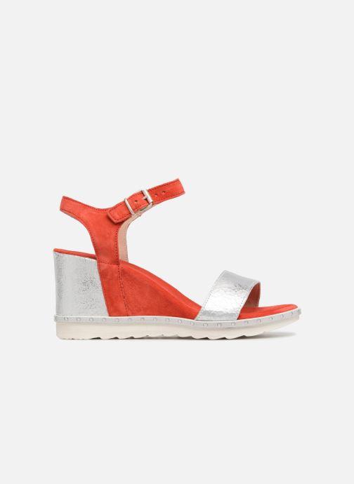 Sandales et nu-pieds Khrio Primavera Rouge vue derrière