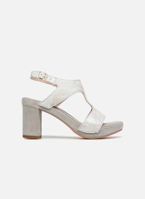 Sandales et nu-pieds Khrio Cara Gris vue derrière