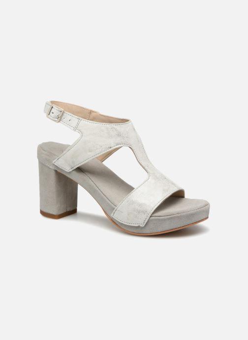 Sandales et nu-pieds Khrio Cara Gris vue détail/paire