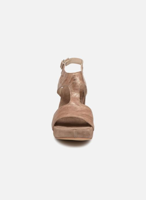 Sandali e scarpe aperte Khrio Cara Marrone modello indossato