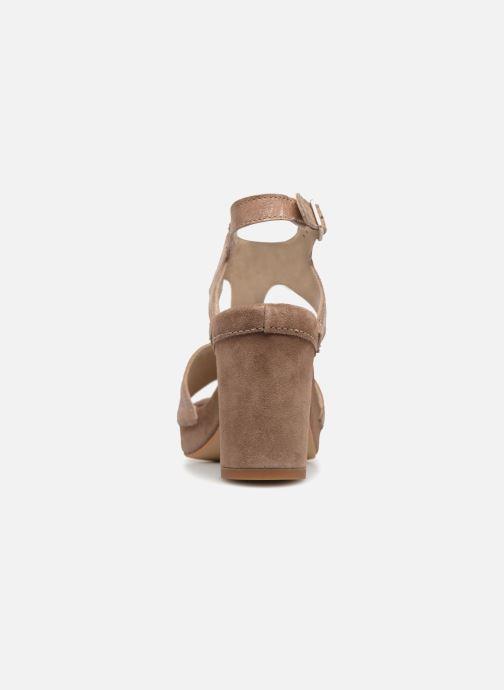 Sandales et nu-pieds Khrio Cara Marron vue droite