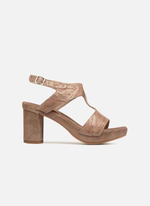 Sandales et nu-pieds Khrio Cara Marron vue derrière