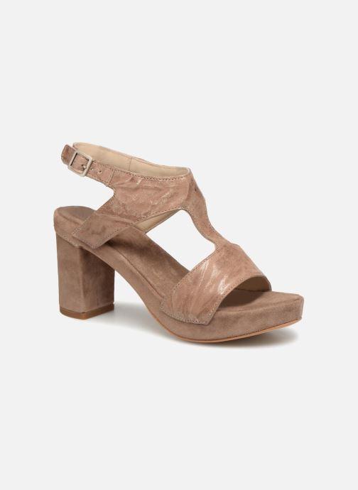 Sandales et nu-pieds Khrio Cara Marron vue détail/paire