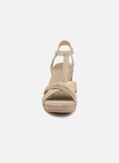 Sandales et nu-pieds Khrio Pila Beige vue portées chaussures