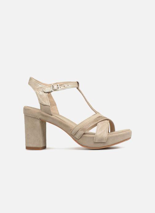 Sandales et nu-pieds Khrio Pila Beige vue derrière