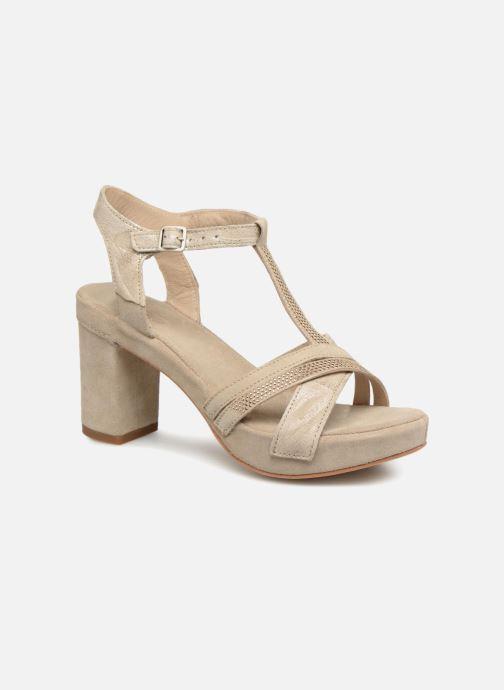 Sandales et nu-pieds Khrio Pila Beige vue détail/paire