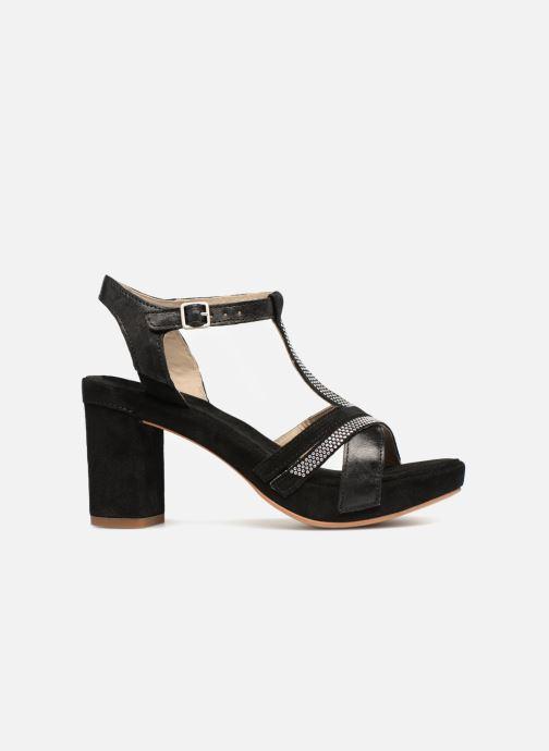 Sandales et nu-pieds Khrio Pila Noir vue derrière