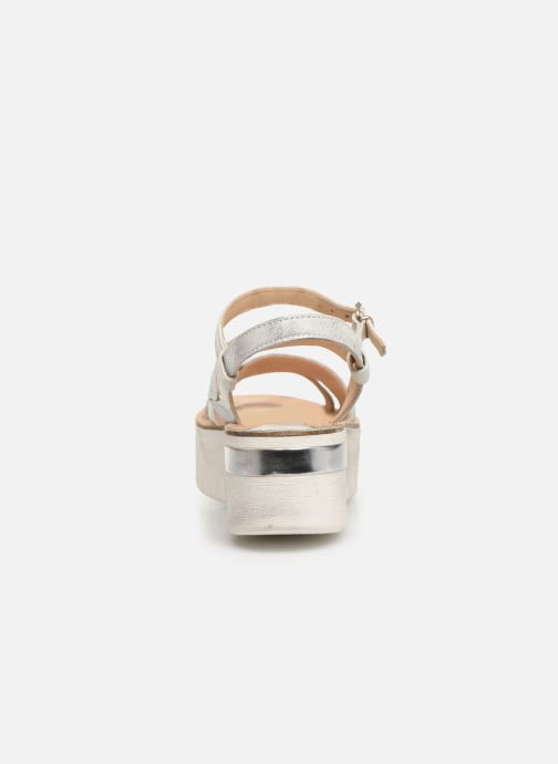 Sandals Khrio Silvia Silver view from the right