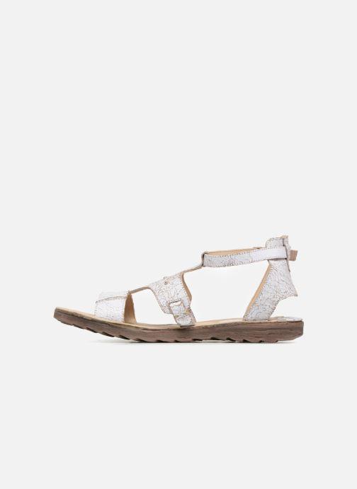 Sandales et nu-pieds Khrio Inferna Blanc vue face