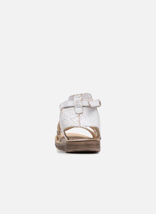 Sandales et nu-pieds Khrio Inferna Blanc vue droite