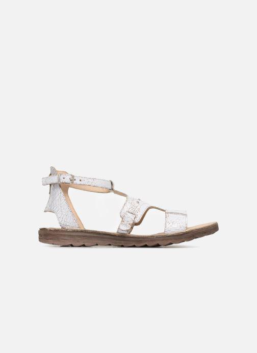 Sandales et nu-pieds Khrio Inferna Blanc vue derrière