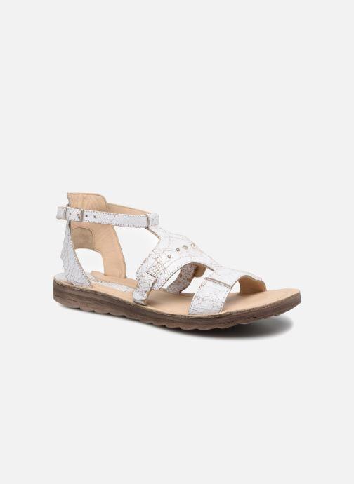 Sandales et nu-pieds Khrio Inferna Blanc vue détail/paire