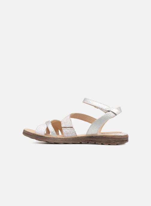 Sandales et nu-pieds Khrio Margareta Blanc vue face