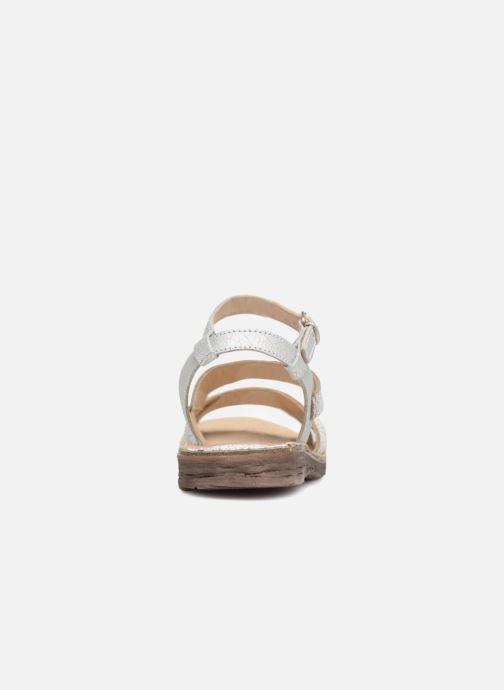 Sandales et nu-pieds Khrio Margareta Blanc vue droite