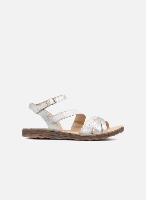 Sandales et nu-pieds Khrio Margareta Blanc vue derrière