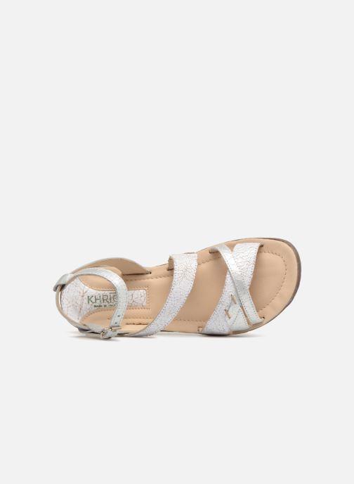 Sandales et nu-pieds Khrio Margareta Blanc vue gauche
