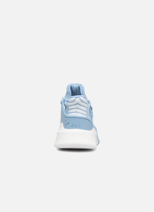 Trainers adidas originals Eqt Bask Adv W Blue view from the right