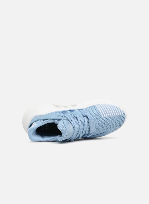Trainers Adidas Originals Eqt Bask Adv W Blue view from the left